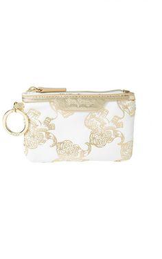6c49541b75 Lilly Pulitzer Key ID Card Case Dressy Flip Flops