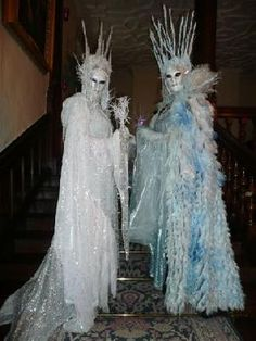 ice queen | Crystal Ice Queen - Hire & Book For Parties & Events - Classique