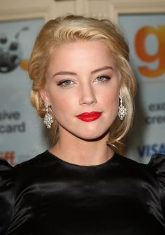 Ingeniously talented Amber Heard Fantastic... A fan of muscle cars, she drives a 1968 Ford Mustang