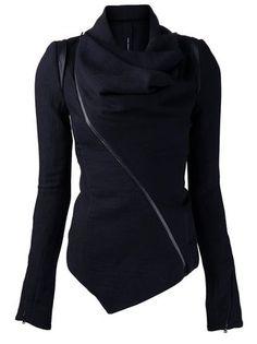 Isabel Benenato leather trim jacket
