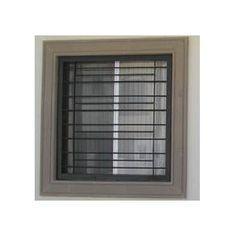 modelos de herreria para casas - Buscar con Google                                                                                                                                                                                 Más: Window Grill Design Modern, Grill Door Design, Door Gate Design, Railing Design, Window Design, Grill Gate, Door Grill, Window Security Bars, Modern Entrance Door