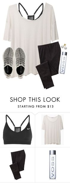 """02•09•16"" by lydia-hh ❤ liked on Polyvore featuring NIKE, T By Alexander Wang, adidas, Old Navy, Mikimoto, women's clothing, women, female, woman and misses"