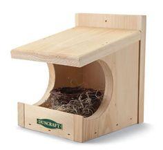Robin or Dove Nesting Shelf Order