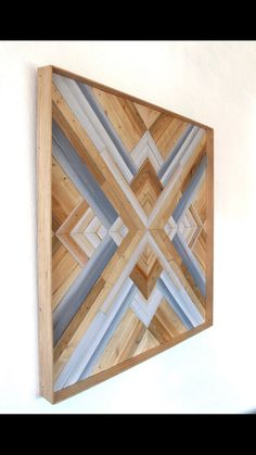 Wood Art Reclaimed Wood Wall Art, Reclaimed Wood Projects, Wooden Wall Art, Diy Wall Art, Barn Wood, Wall Art Decor, Salvaged Wood, Wood Wood, Painted Wood