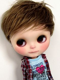 Blythe Boy Doll - Boy 5 by ladynoir63, via Flickr