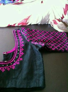 Kutch Work blouse at elegantfashionear.com