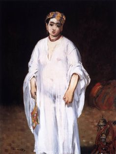 Edouard Manet, The Sultana, c. 1871, Oil on canvas, 92 x 73 cm, Private collection