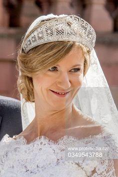 The Prussian Meander tiara worn by Princess Viktoria