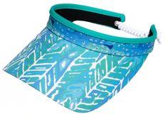 Glove It Ladies Print Golf Visors (w/ Twist Cord) - Mystic Sea