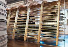 Red Bull Toronto, Johnson Chou - Chic Fashion Pins : The Cutest Pins Around! Corporate Interiors, Corporate Design, Office Interiors, Retail Design, Corporate Offices, Display Design, Store Design, Wall Design, House Design
