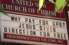 Church Sign!