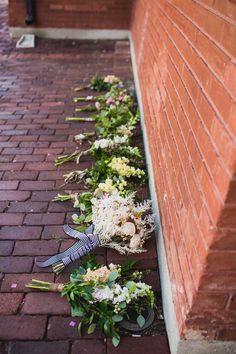 A Rambling Fancy | oklahoma wedding, diy bouquets, bridal party
