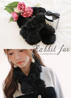 Today's Hot Pick :Angora Fur Scarf http://fashionstylep.com/SFSELFAA0007751/bapumken1/out High quality Korean fashion direct from our design studio in South Korea! We offer competitive pricing and guaranteed quality products. If you have any questions about sizing feel free to contact us any time and we can provide detailed measurements.