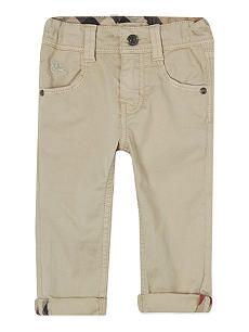 BURBERRY Cotton trousers 3-36 months
