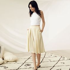Lindell Culotte - Culottes Pants from Club Monaco Canada