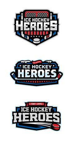 ICE HOCKEY HEROES - EVENT IDENTITY on Behance