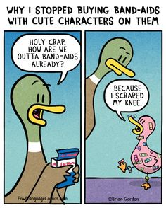 Band-Aids - Fowl Language Comics