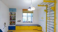 Kids playroom. Design by ILLUSTRA