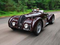 1938 Alfa Romeo 6C 2300B Mille Miglia Spyder.  I've pinned it before, but it's just so pretty.