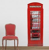 Wall-Decals.eu: London Telephone Box