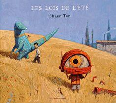 """""""Les lois de l'été"""" (traduit de l'anglais (Australie) par Anne Krief, Gallimard Jeunesse"""