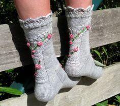 Knitters Brewing Company - Bridge of Roses Sock Kit, $24.00 (http://www.knittersbrewing.com/bridge-of-roses-sock-kit/)