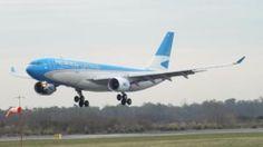 Aerolíneas Argentinas canceló vuelo a Venezuela por seguridad