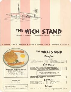 The Wich Stand, Los Angeles, CA