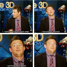 Life won't be the same without him. Glee definitely won't be the same. He made me fall in love with the show. :( #RIPCoryMonteith