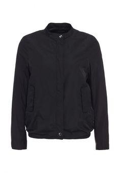 Куртка Calvin Klein Jeans женская. Цвет: черный. Сезон: Весна-лето 2014. С бесплатной доставкой и примеркой на Lamoda. http://j.mp/1xi1CTH