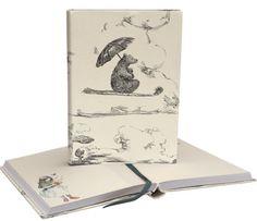 Softback Journal from Roger la Borde Notebooks, Journals, Exercise Book, Innovation Design, Christening, Sketches, Graphics, Illustrations, Bear