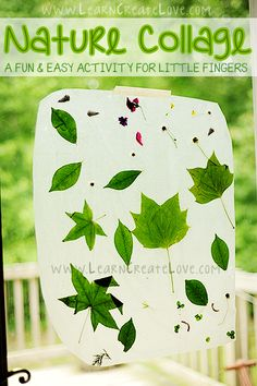 Nature Collage Craft