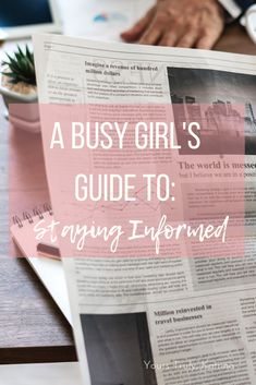 A Busy Girl's Guide to Staying Informed - Yours Truly, Katrina College Hacks, College Fun, School Hacks, College Life, College Students, Planners, Somehow I Manage, Schools In America, Secondary Teacher