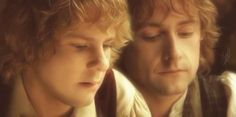 Merry and Pippin!! ❤❤❤ I am in love with Billy Boyd, he's adorable with his Scottish accent