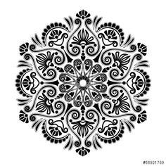 Radial geometric pattern                                                                                                                                                     Mais
