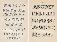 1946 ABCD A Pocket Book of Alphabets -  By: What Katie Does | Flickr