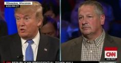 Donald Trump owned the CNN townhall meeting tonight
