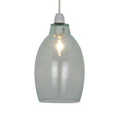Gia Glass Bottle Pendant | Dunelm £17
