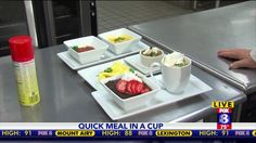 Check out the quick cook-in-a-cup recipes! YUM!