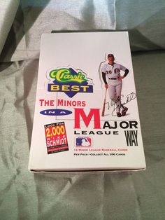 1991 Classic Best The Minors in a Major Way Baseball Card Lot Display Box #Baseball #Card #DisplayBox #1991 #TheMinors