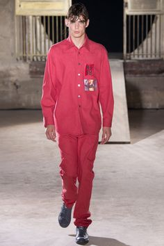 Raf Simons: menswear spring/summer 2015