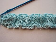 1992.- Técnica crochet: Diferentes puntos