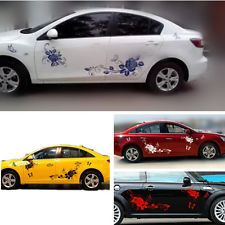 New Car Decal Vinyl Graphics Side Stickers Body Decals Sticker D