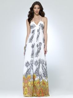 Paisley Maxi Dress; REALLY want it but its so expensive!