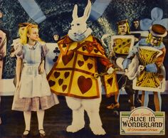 Alice in Wonderland with Charlotte Henry. C.1933. There are over 20 film adaptations of Lewis Carroll's novel.