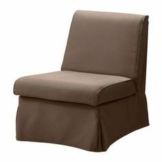 SANDBY Armchair - Blekinge brown - IKEA