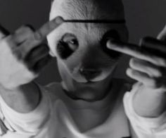 """Alle Pandas aufgepasst! Neuer Track von Cro feat. DaJuan!!!  """"Ich hab zwar keine Knarre aber shoot, shoot, shoot, shoot"""" hier:"""