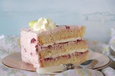 Cherry and white chocolate tourta Greek Recipes, White Chocolate, Vanilla Cake, Cherry, Rolls, Sweet, Desserts, Food, Candy