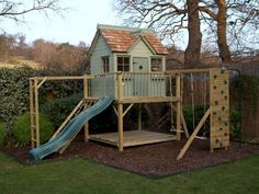 37+ Clever and Cute Backyard Garden Playground for Kids - Page 8 of 39