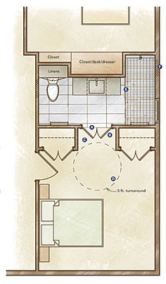 doesnt look like much transfer room buthow to remodel a bath for accessibility fine homebuilding article
